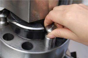 Powder direct compression process