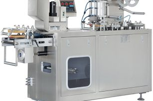 DPP-80 flat type Al/PVC & Alu/Alu blister packaging machine